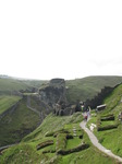 SX07180 Both courtyards of Tintagel Castle.jpg